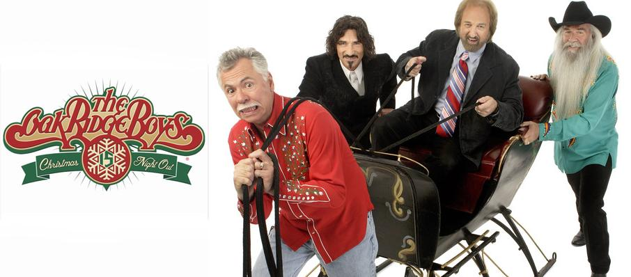 The Oak Ridge Boys Christmas Show at Brown County Music Center