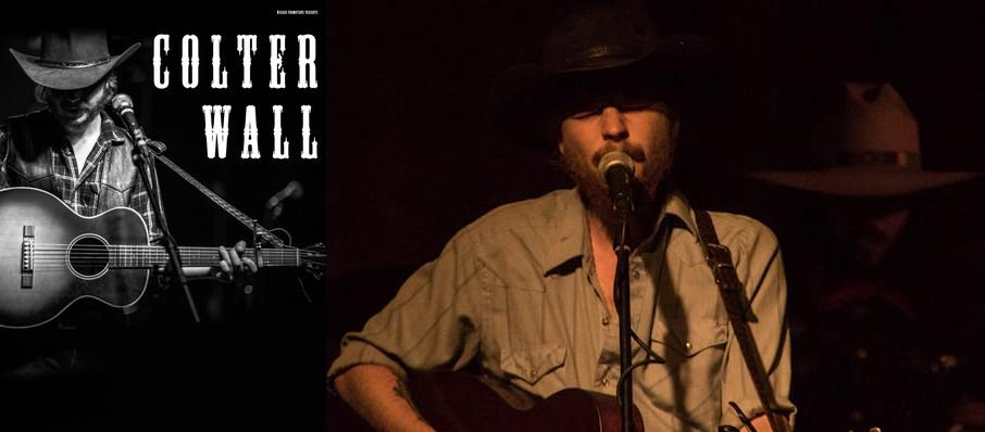 Colter Wall at Bluebird Nightclub