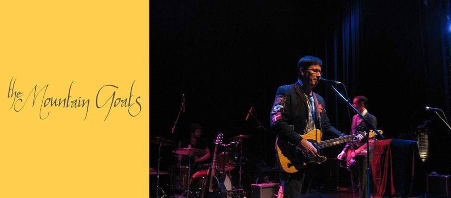 The Mountain Goats at Buskirk-chumley Theatre