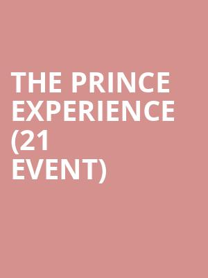 The Prince Experience (21+ Event) at Bluebird Nightclub