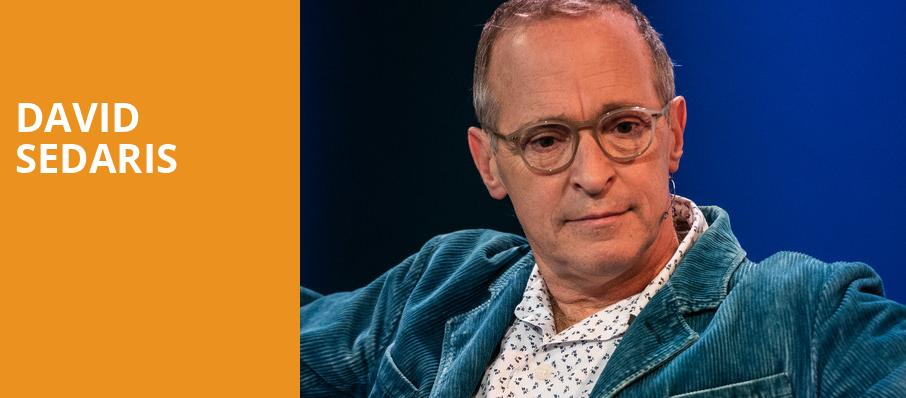David Sedaris, Indiana University Auditorium, Bloomington
