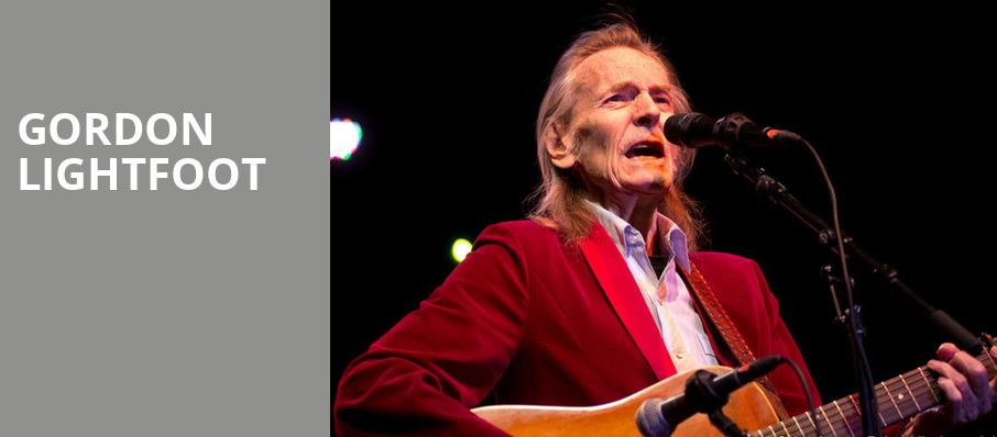 Gordon Lightfoot, Brown County Music Center, Bloomington