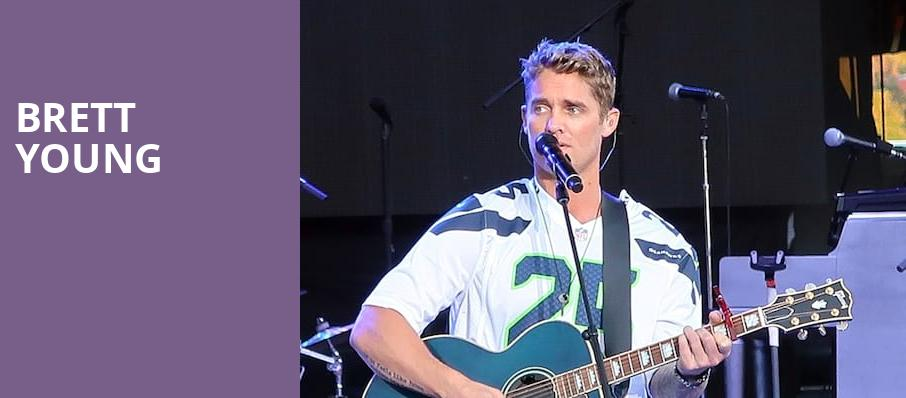 Brett Young, Brown County Music Center, Bloomington