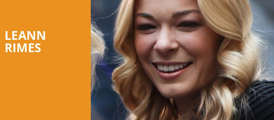 LeAnn Rimes, Brown County Music Center, Bloomington