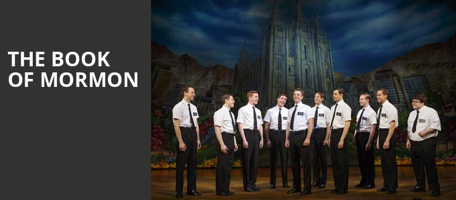 The Book of Mormon, Indiana University Auditorium, Bloomington
